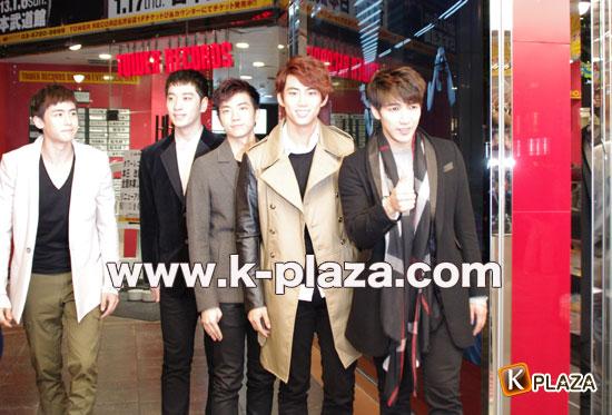 2PM来日写真4