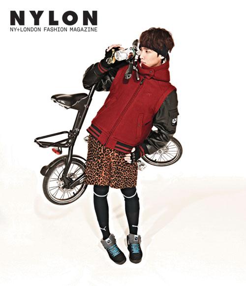 MBLAQイジュン、韓国雑誌「NYLON」12月号のグラビアを飾る3