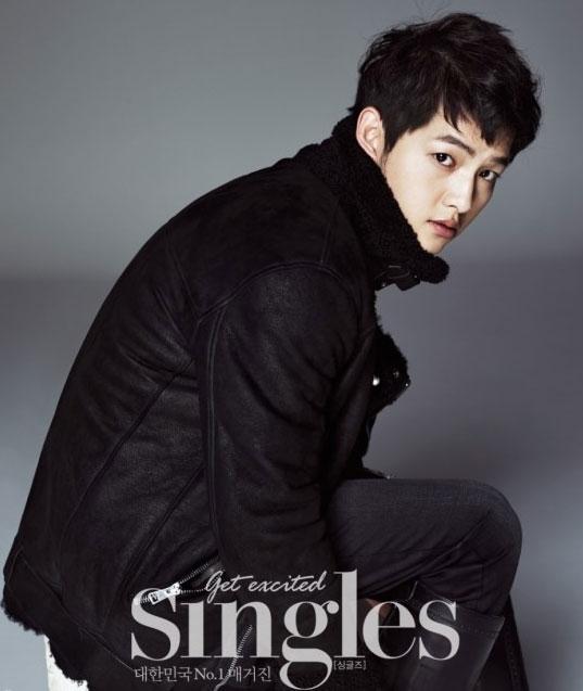 ソン・ジュンギ韓国雑誌「Singles」12月号でピュアな魅力発散!
