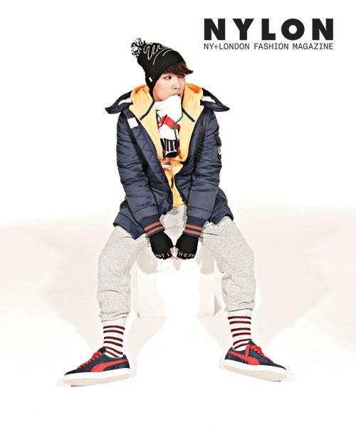 MBLAQイジュン、韓国雑誌「NYLON」12月号のグラビアを飾る!
