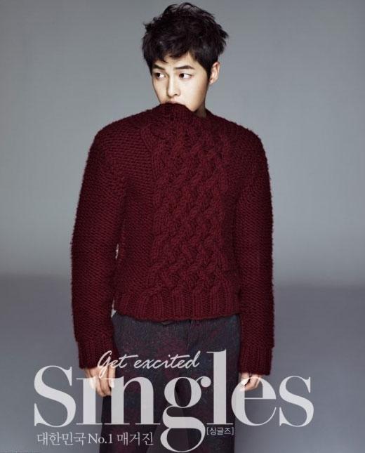 ソン・ジュンギ韓国雑誌「Singles」12月号グラビア写真
