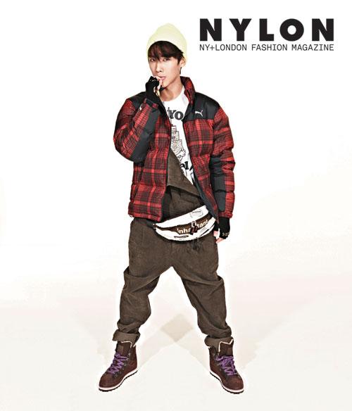 MBLAQイジュン、韓国雑誌「NYLON」12月号のグラビアを飾る2