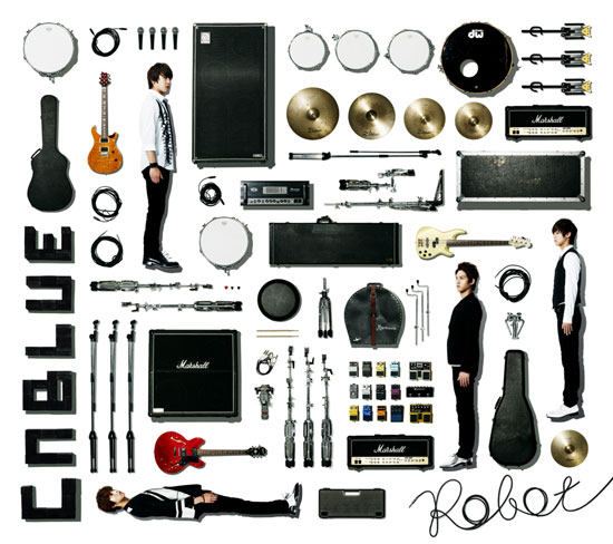 CNBLUEの日本4th SINGLE「Robot」12月19日発売!