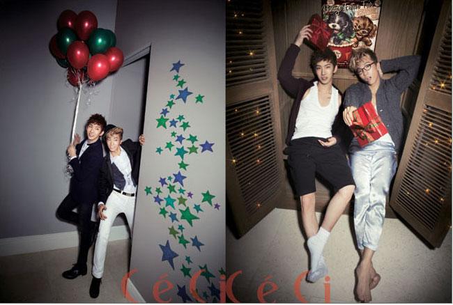 韓国女性雑誌Ceci(セシ)12月号