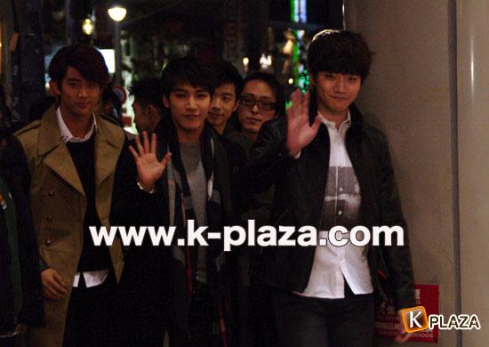 2PM来日写真2