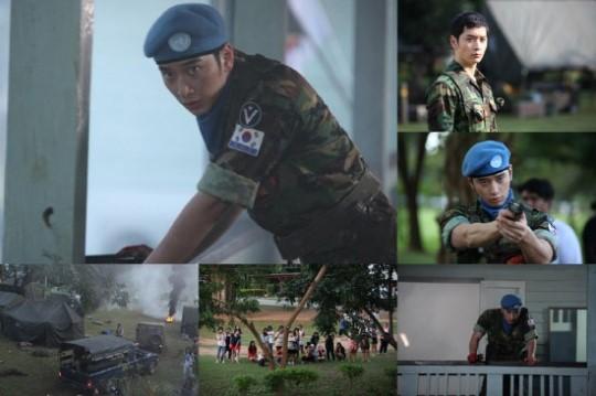 2PMチャンソン、「7級公務員」で凛々しく鍛え抜かれた体を堂々と披露