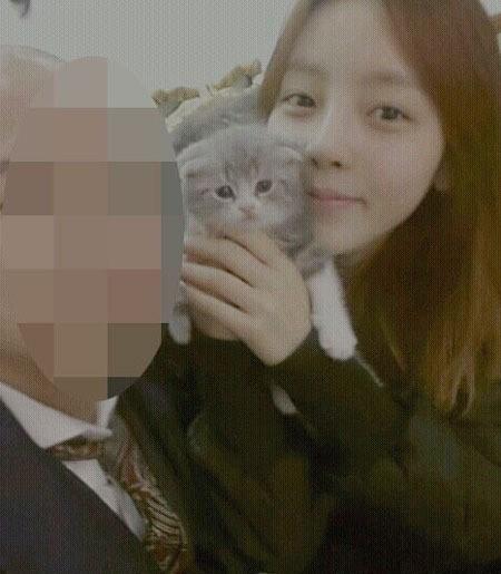 KARA(カラ)ク・ハラ、恋人ヨン・ジュニョンに子猫をプレゼント!交際順調アピール