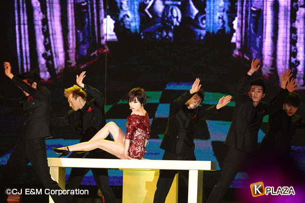 2012 Mnet Asian Music Awards in 香港 フォトギャラリー GAIN(ガイン)、ソ・イニョン、Ailee編