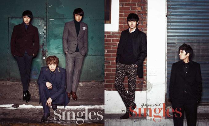 韓国雑誌シングルズ1月号FTISLANDの写真2