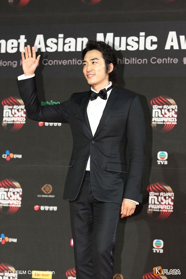 2012 Mnet Asian Music Awards in 香港 フォトギャラリー ソン・スンホン、チョン・イル、チョン・ウソン、キム・ソンス編