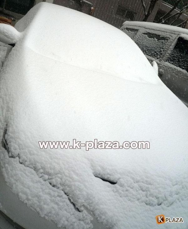 雪のソウルの写真8