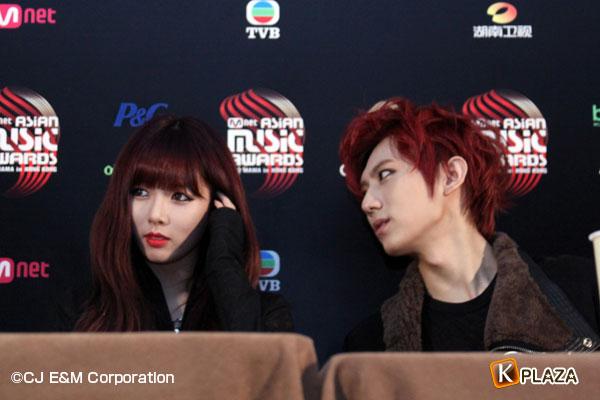 2012 Mnet Asian Music Awards in 香港 フォトギャラリー TROUBLE MAKER(トラブルメーカー)BEASTヒョンスン&4minutesヒョナ編
