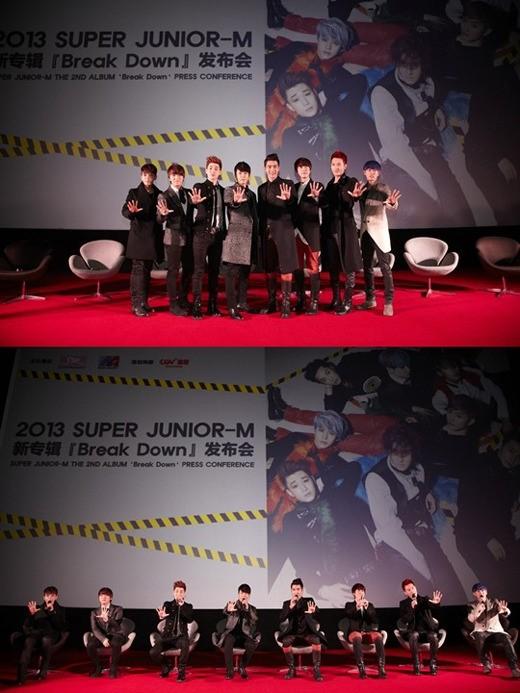 SUPER JUNIOR-M(スーパージュニアエム)、中国での人気ぶりに公安出動!