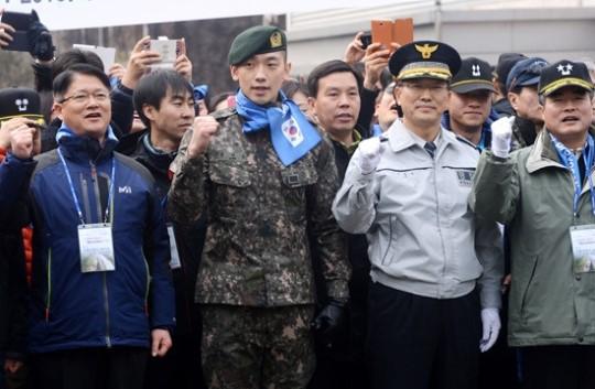 第1回ソウル市民と共にする愛国ウォーキング大会