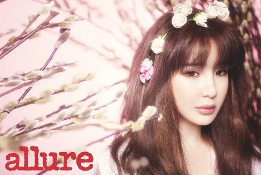 2NE1パク・ボム、韓国雑誌allureで女神に大変身!