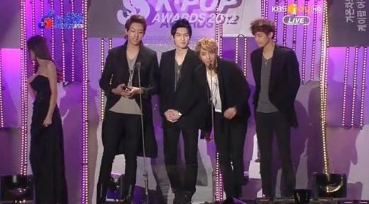 CNBLUE(シーエヌブルー)「第2回ガオンチャートK-POPアワード」で韓流特別賞受賞