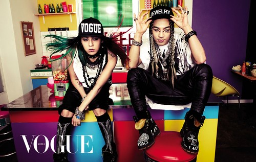 BIGBANG(ビックバン) G-DRAGONとテヤン、ポップアートの世界を公開