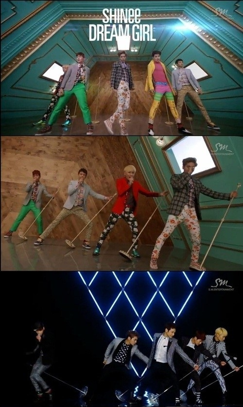 SHINee(シャイニー)、新曲「DREAM GIRL」のミュージックビデオを公開