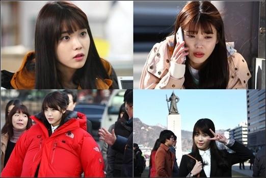 IU(アイユ)、ドラマ「最高だイ・スンシン」の撮影で涙の熱演