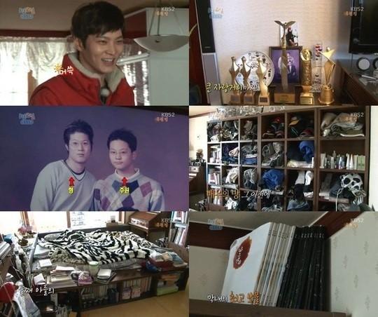 チュウォン、「1泊2日」で自宅を公開!素朴ながらも暖かい家庭