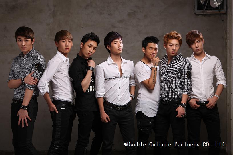 韓国の7人の人気ボーカルダンスグループ、N-SONICが来日!