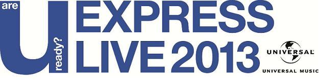 ユニバーサル ミュージック主催 ライブイベント『U-EXPRESS LIVE 2013』にキム・ヒョンジュンの参加が決定!!