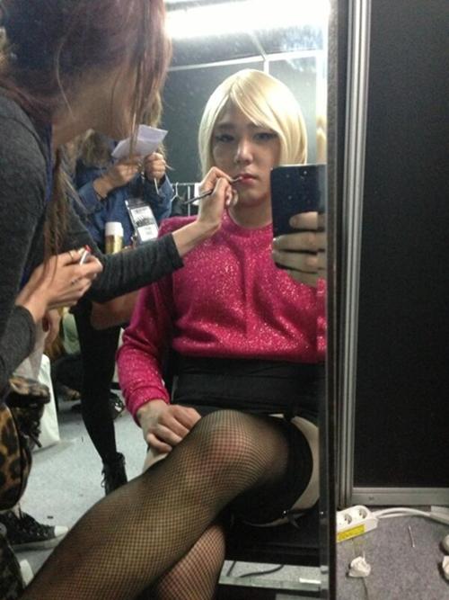 Super Junior(スーパージュニア)カンイン、衝撃の女装で謝罪?!