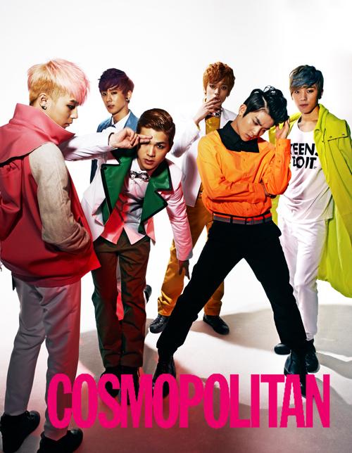 TEEN TOP(ティーントップ)のビビッドな個性溢れるグラビアが話題!