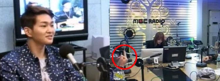SHINee(シャイニー)オンユ、中指を立てたことについて謝罪