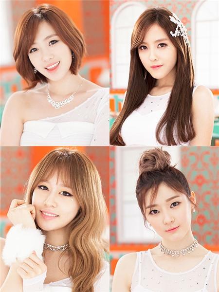 T-ara(ティアラ)、4人組新ユニットでカムバック!