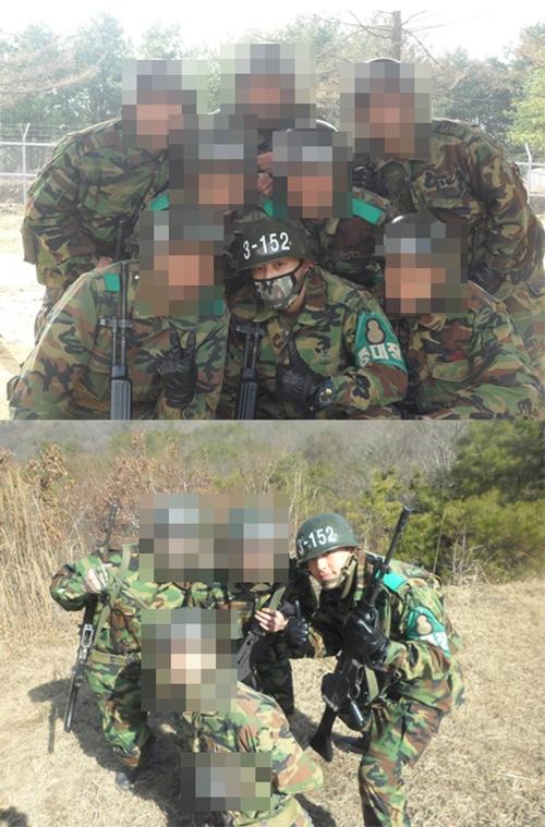 SE7EN(セブン)、軍事訓練の様子を公開