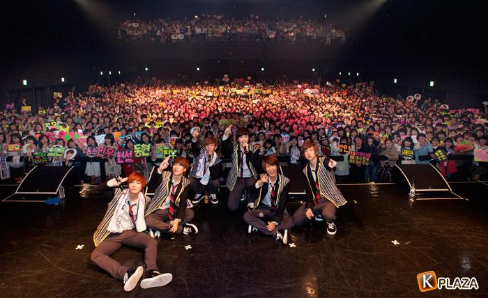 BOYFRIEND、3rdシングル発売記念イベント取材レポート!