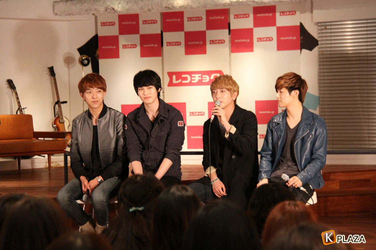 CNBLUE(シーエヌブルー)、日本のファン100人と限定イベント開催!