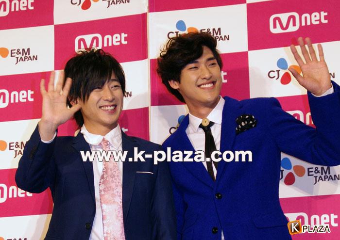 「ずっと、もっと、Mnet!と・と・とキャンペーン感謝祭」コン・テユ&キム・ジニョプフォトセッションレポート!