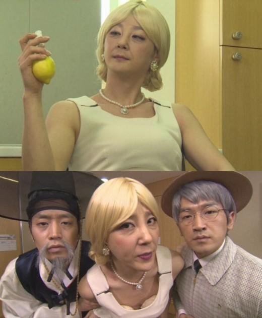 神話(SHINWHA)、美女とおじいちゃんに変身!?
