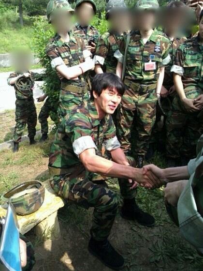 ヒョンビン、予備軍訓練に参加