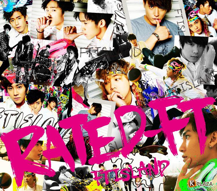 FTISLAND(エフティーアイランド)、日本3rdアルバム「RATED-FT」ジャケット写真公開!