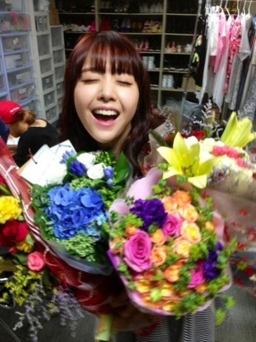 ガールズディ(Girl's Day)ミナ、主演映画「ホリー」公開で笑顔炸裂
