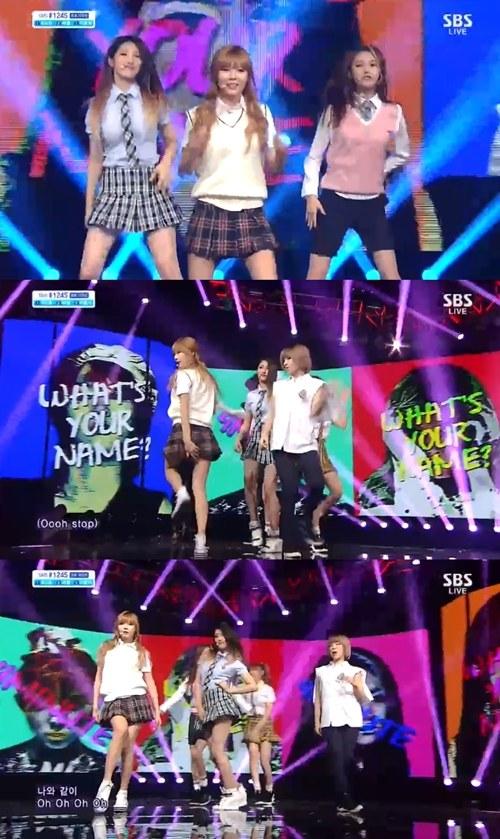 活動休止前の最後に舞台で4Minute(フォーミニッツ)超ミニ制服スカートのセクシー美を魅せる!