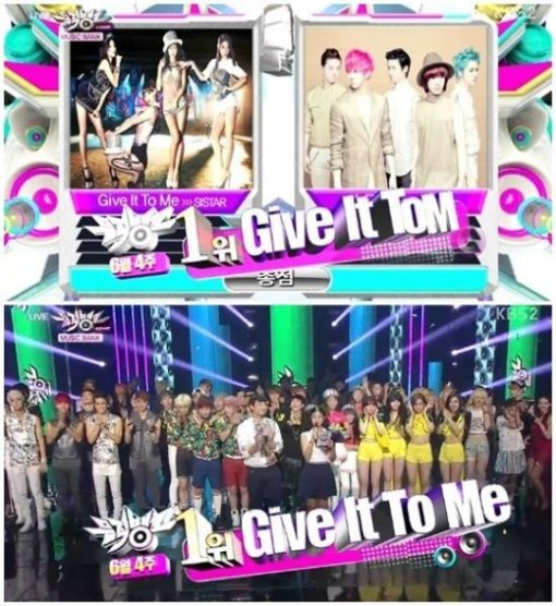 Sistar(シスター)大人気!MBLAQを抜いて「ミュージックバンク」1位でトリプルクラウンも獲得