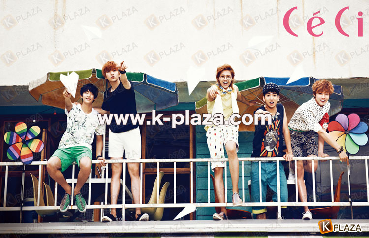 B1A4、韓国雑誌Ceci7月号のグラビア公開!