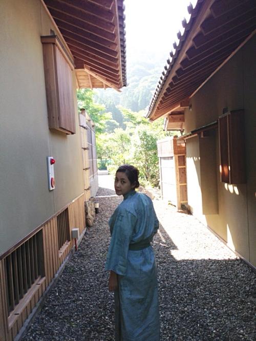 ソルビ、日本旅行での浴衣姿を披露!