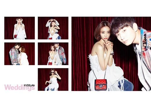 2AMジヌンとコ・ジュニ、かわいらしいウェディング写真が話題に!