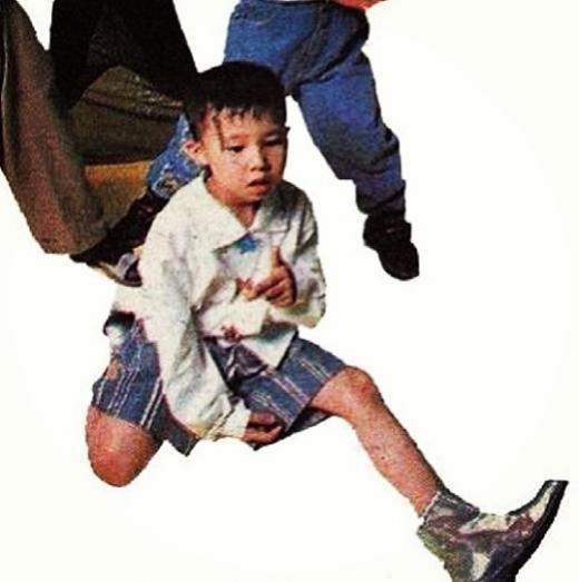 G-DRAGON、実は幼少期からファッショニスタ?!子供時代の写真公開!