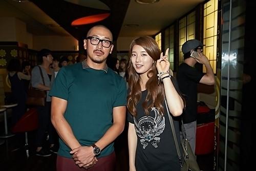 俳優ハ・ジョンウとMissAスジ、ツーショット写真公開!実はハ・ジョンウはスジの大ファン!?