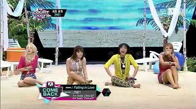 2NE1 新曲「Falling in Love」で遂にMcountdownでカムバック!