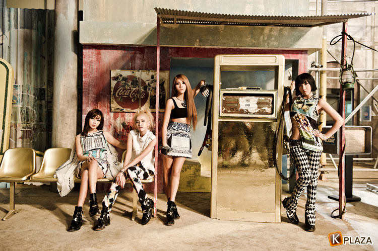 2NE1、夏にぴったりなレゲエナンバー「FALLING IN LOVE」を日本でも配信!