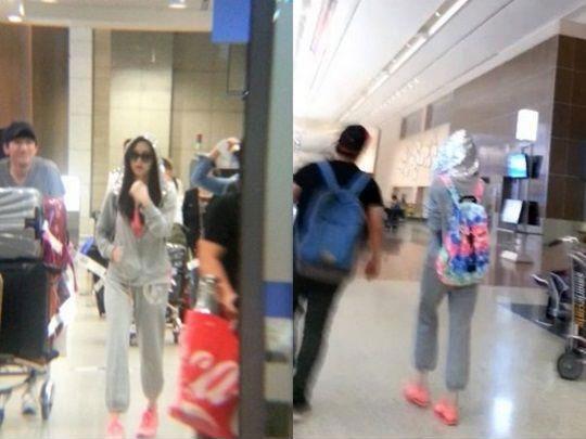 少女時代ソヒョン、空港ファッションはスポーティーにコーデ!