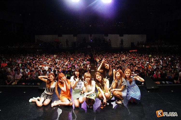 AFTERSCHOOL、1年ぶりファンミーティングで大沢伸一プロデュース新曲「Heaven」初披露!