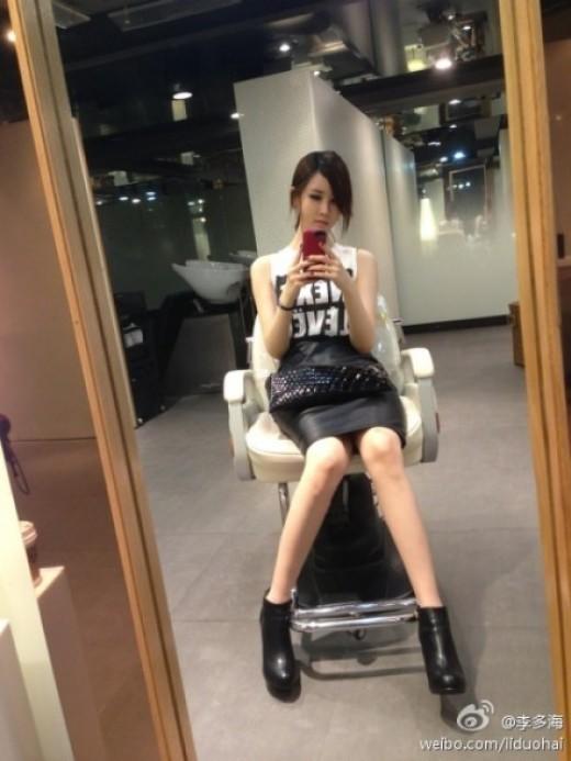 女優イ・ダヘ、鏡越しに撮った自分撮りセルフショット公開!